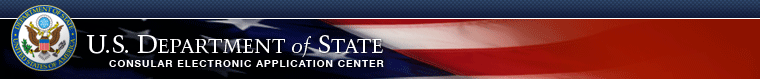 U.S. Department of State Electronic Application Center